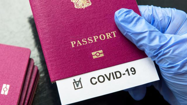 Антиковидные паспорта