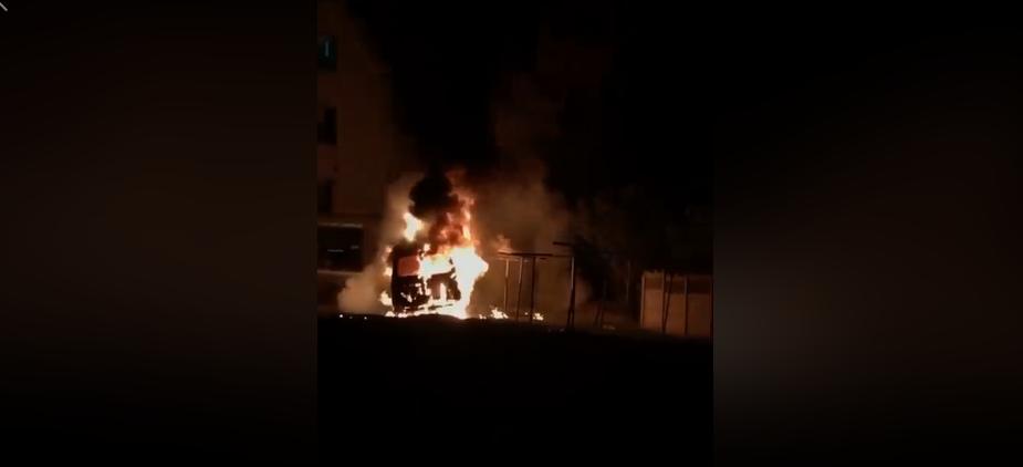 У Ковелі уночі горіли три автівка (відео, оновлено)