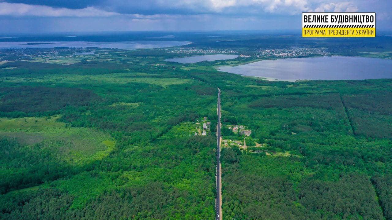 На Волині відремонтували 26 кілометрів дороги до Шацьких озер (фото)